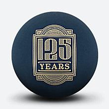斯伯丁125周年蓝色迷你橡胶纪念篮球51-279Y
