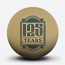 斯伯丁125周年金色迷你纪念篮球51-280Y