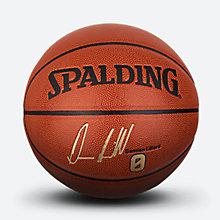 斯伯丁NBA开拓者队达米恩利拉德签名PU篮球76-110Y