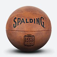 斯伯丁125周年纪念球复古PU篮球76-552Y