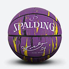 斯伯丁科比大理石系列紫金橡胶篮球84-005Y