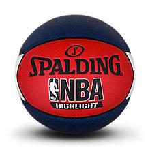 Highlight红/白/蓝色星形PU篮球76-022Y