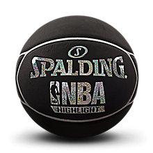 SPALDING官方旗舰店Highlight彩色闪光星形PU篮球76-023Y