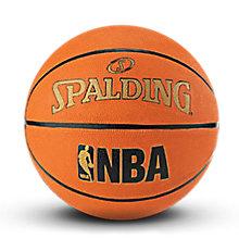 SPALDING官方旗舰店JR.NBA青少年橡胶篮球83-421Y