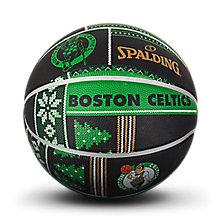 NBA凯尔特人队圣诞系列黄?#26029;?#33014;篮球83-638y