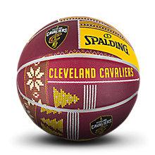 NBA骑士队圣诞系列黄/?#26029;?#33014;篮球83-654y